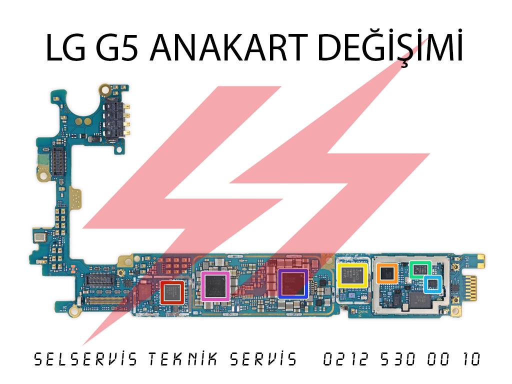 lg g5 anakart değişimi